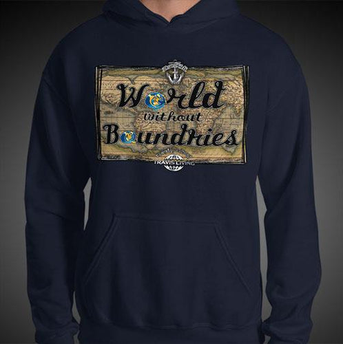 World Without Boundaries Travel Hoodie Mens Authentic Quality Hoodies Men Hoods - Travell Well