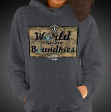 Load image into Gallery viewer, World Without Boundaries Travel Hoodie Girls Authentic Quality Hoodies Women Hoods - Travell Well