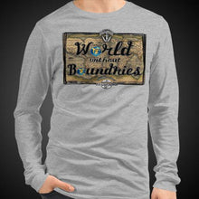 Load image into Gallery viewer, World Without Boundaries Travis Living Tee Men's Long Sleeve Shirt Authentic Quality Men's Shirts