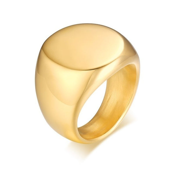 Gold Coat Of Arms Crest Ring
