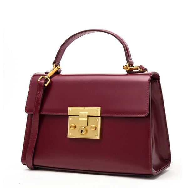 Luxury Leather Vintage handbag