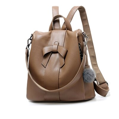 Leather Backpacks Waterproof Bag