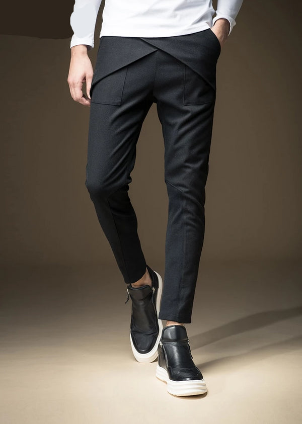 Military Straight Slim Casual Skinny Trouser