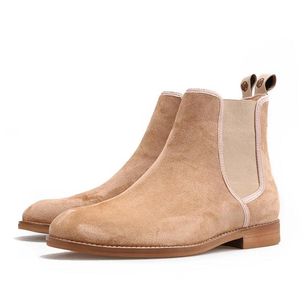Handmade CHELSEA  classic Suede Boot