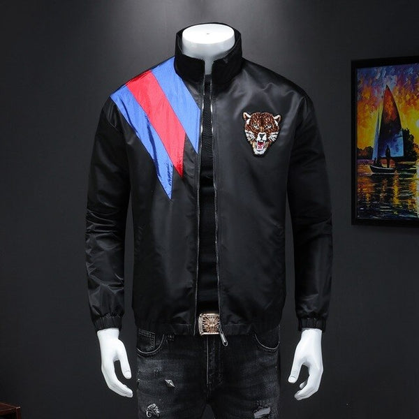 leisure embroidery printing jacket