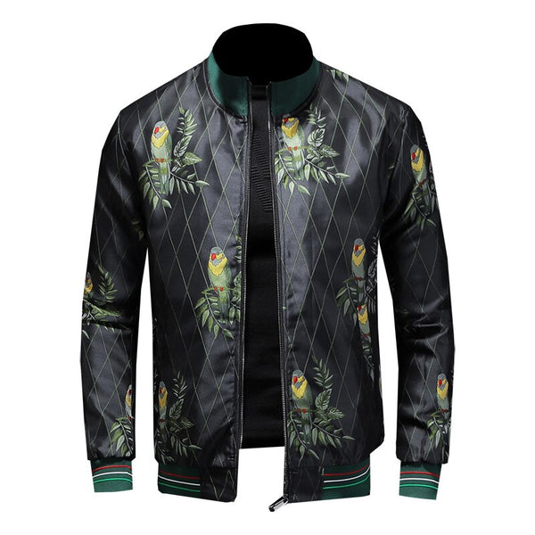 Bamboo Fiber leisure embroidery jacket