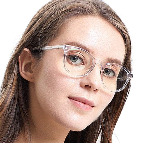 Transparent Circle Prescription Clear Glasses