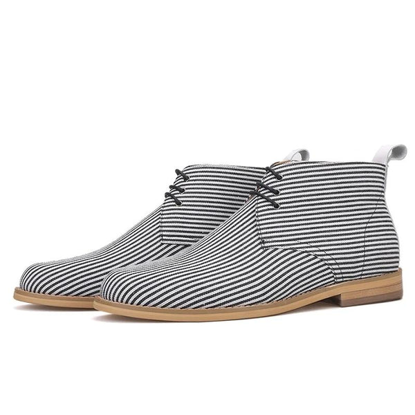 Handmade Gray style classic chukka Ankle Boot