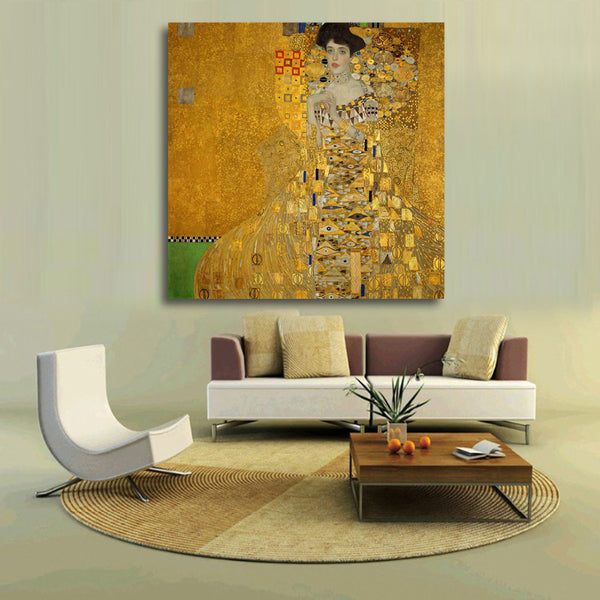Modern Lady temperament Canvas Art Colorful Decorative