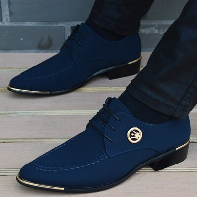 Oxford Hombre Leather Shoe