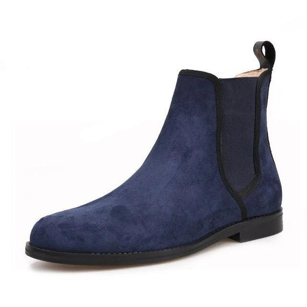 Navy Suede Classic CHELSEA Boot