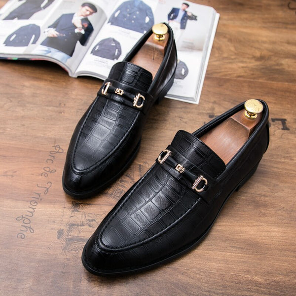 Moccasins Breathable Slip Loafer Shoe