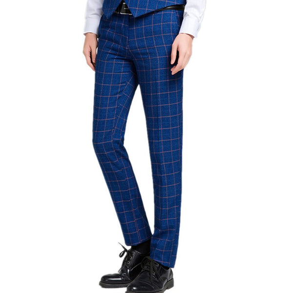 Lattice Professional Lattice  Suit Casual Business Trouser