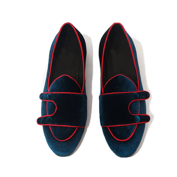Double Monk luxury moccasins loafer