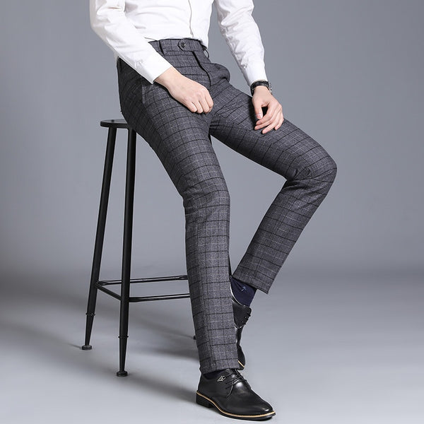 Business Casual Straight Suit Slim Fit Trouser