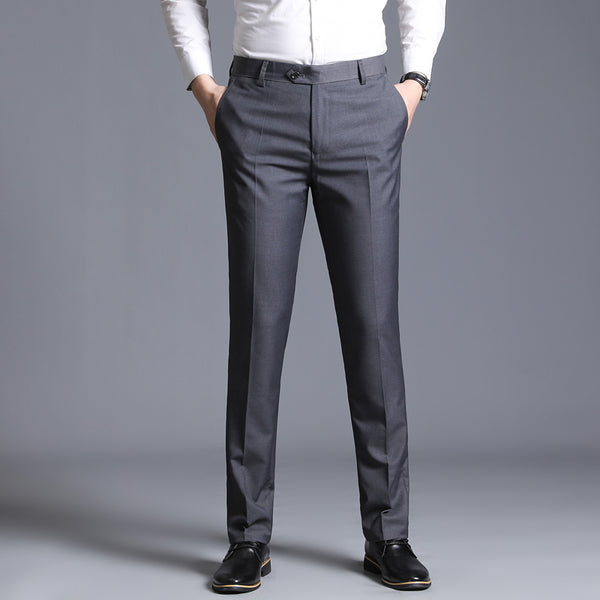 slim suit separate formal business straight trouser