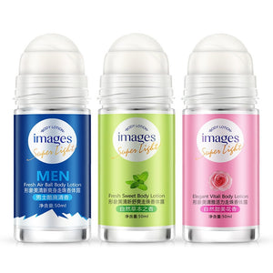 Images Ball Body Lotion Antiperspirants Underarm Deodorant Roll on Bottle Women Fragrance Men Smooth Dry Perfumes