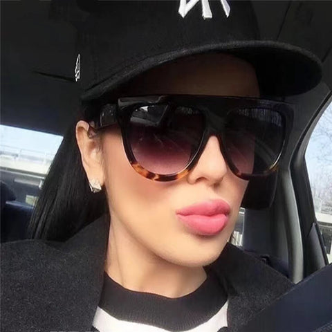 Gafas Fashion Women Sunglasses Brand Designer Luxury Vintage.