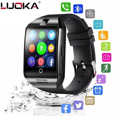 LUOKA Bluetooth Smart Watch Q18 With Camera