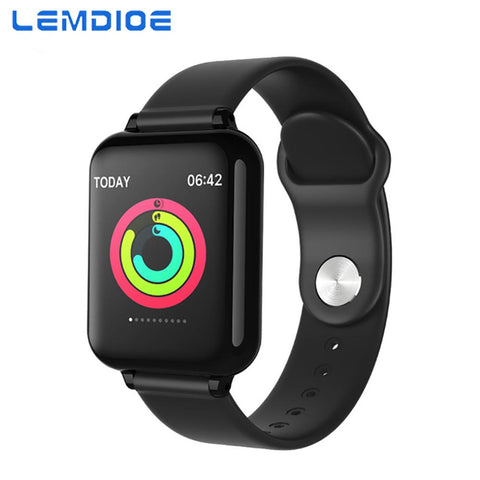 LEMDIOE smart watch men women Heart Rate Blood Pressure Monitoring.