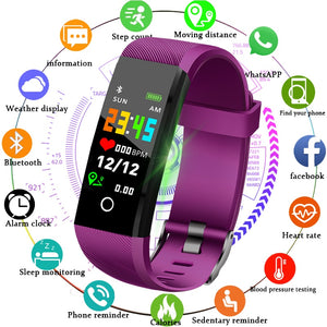 New Smart Watch Women Men Fitness Tracker Blood pressure heart rate monitor Smart Sport Watch