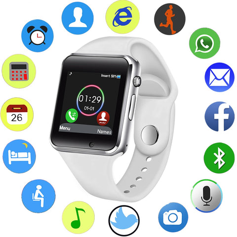 LIGE 2019 New Smart Watch SIM TF Push Message Camera.