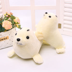New Kawaii Plush Seal Doll Lifelike Sea Lions Plush Toys Cuddle Pillow Kids Toys Lovely Doll Girlfriend Best Gifts Brinquedos