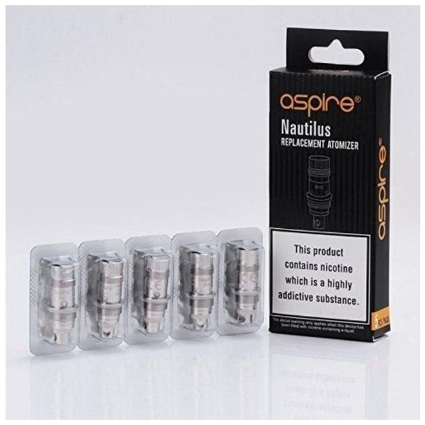 Genuine Aspire Nautilus BVC Coils - 0.7 ohm - 5 pack - cometovape