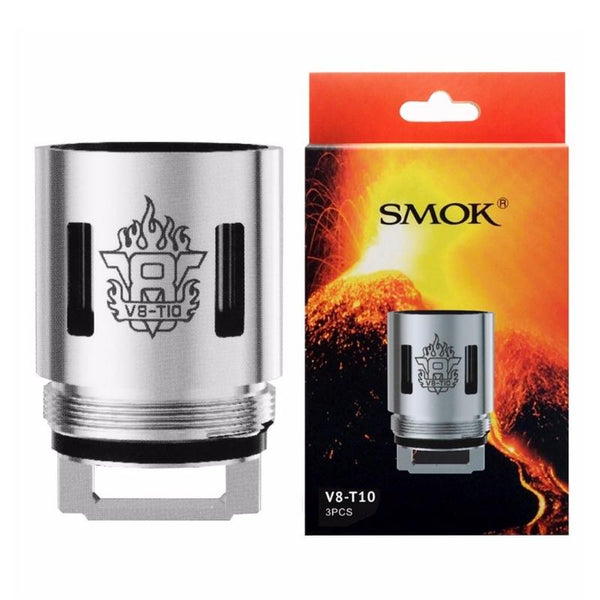 Authentic SMOKTech SMOK V8-T10 Coil Head for TFV8 CLOUD BEAST Tank (3 PCS) - cometovape