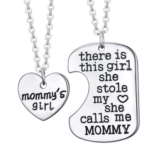 Mommy's Girl Charm Necklace