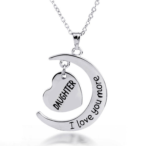 Daughter I Love You More necklace