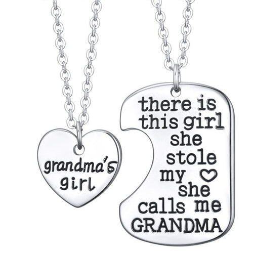 Grandma's Girl Charm necklace