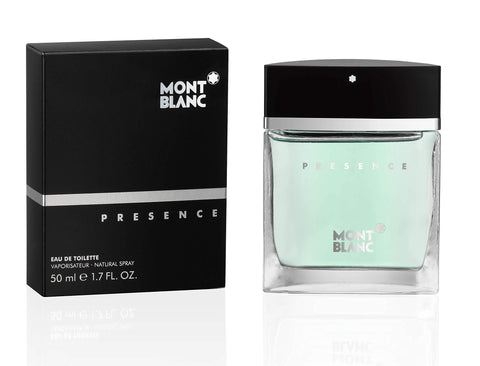 Mont Blanc Presence Eau de Toilette 75ml Spray