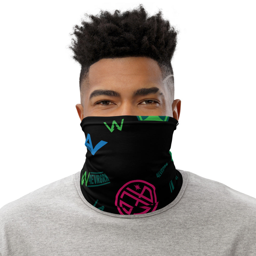 4EVRAbstract Neck Gaiter (Black)