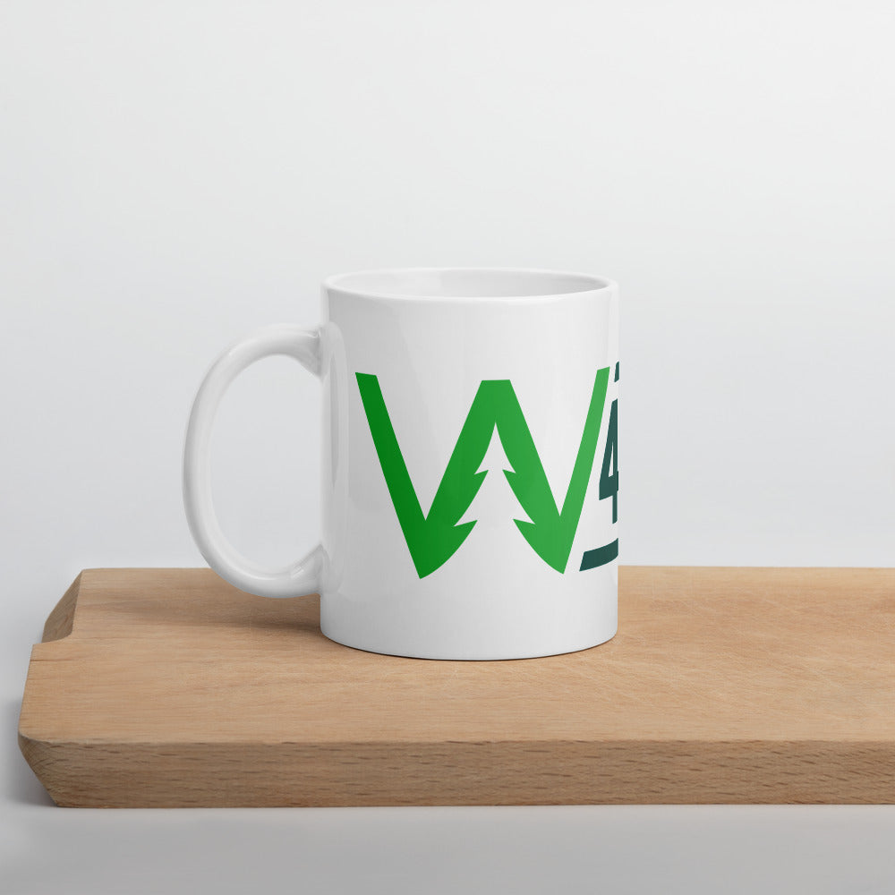 4EVRGRN DUB-TREE Name Logo Mug