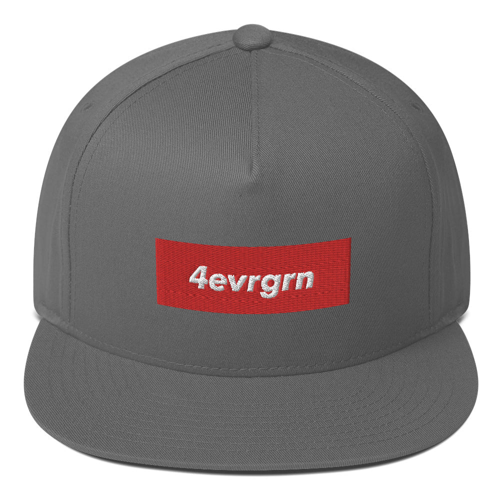 "4EVRGRN ""SUPREMELY RAD"" Flat Bill Cap"