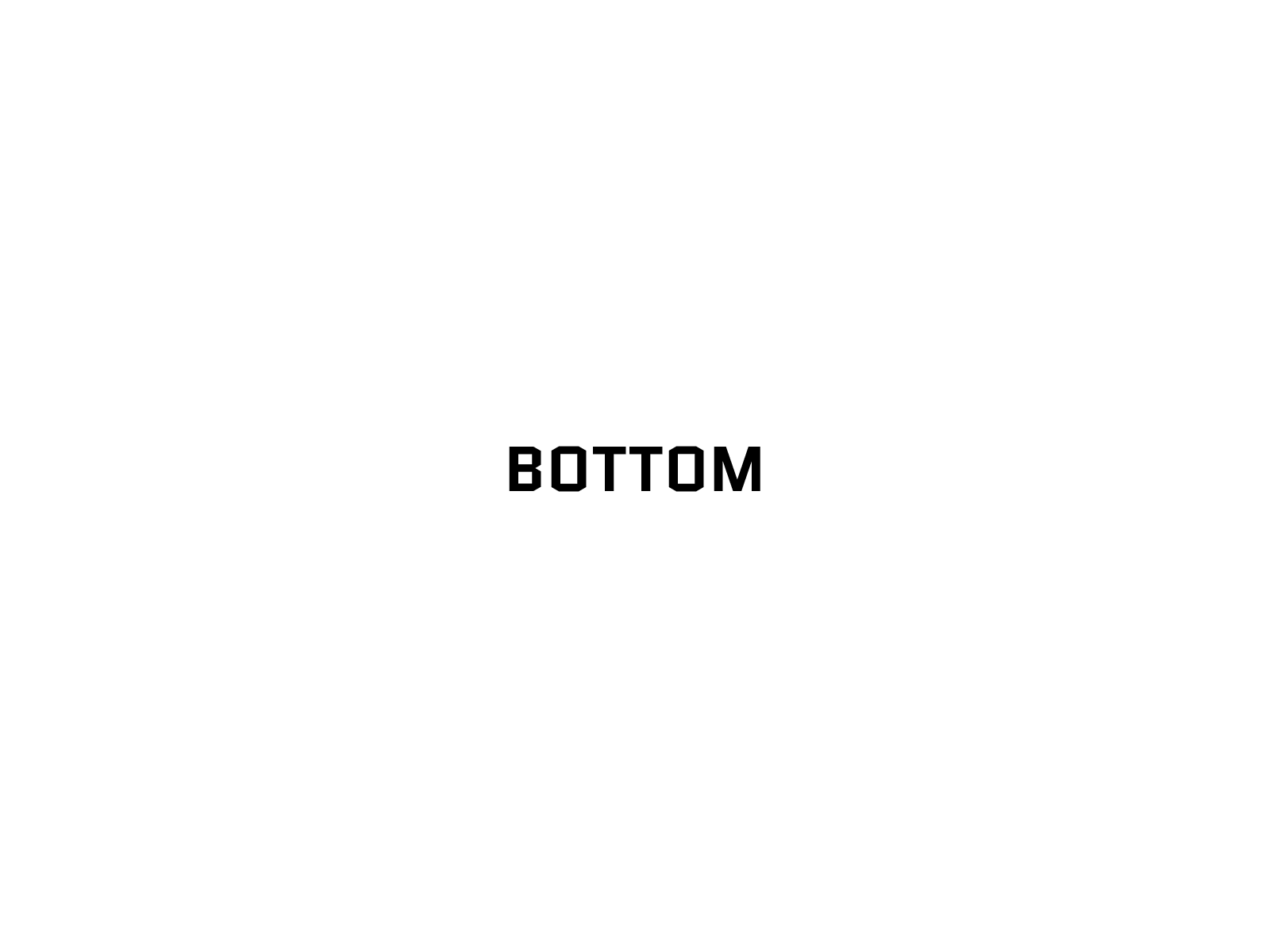 image of Bottom