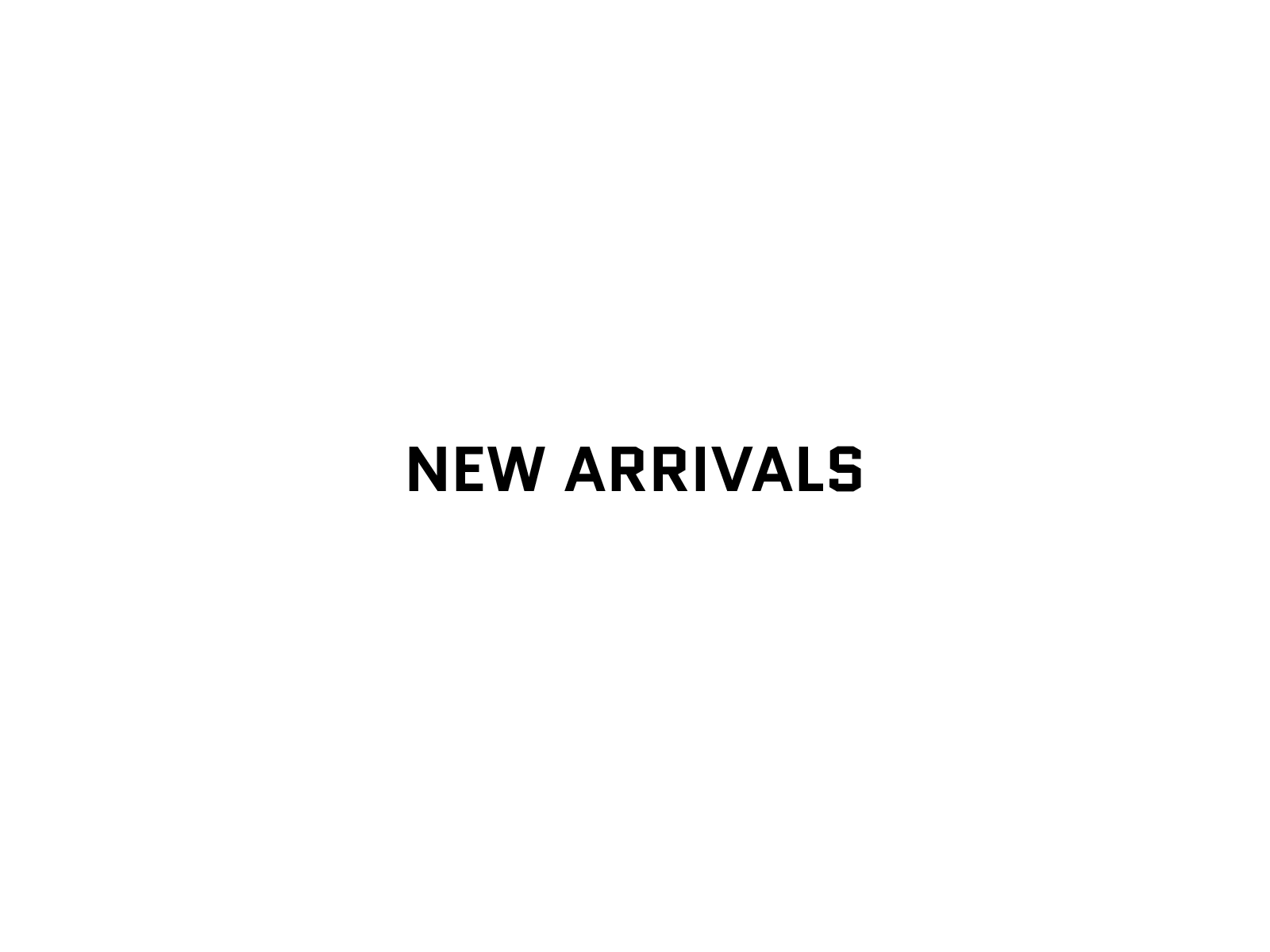 image of New arrivals