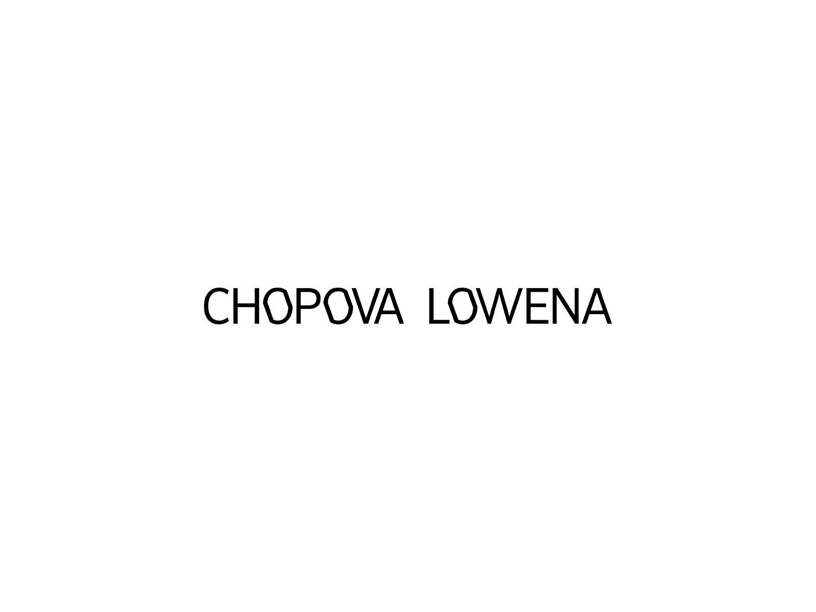 image of Chopova Lowena