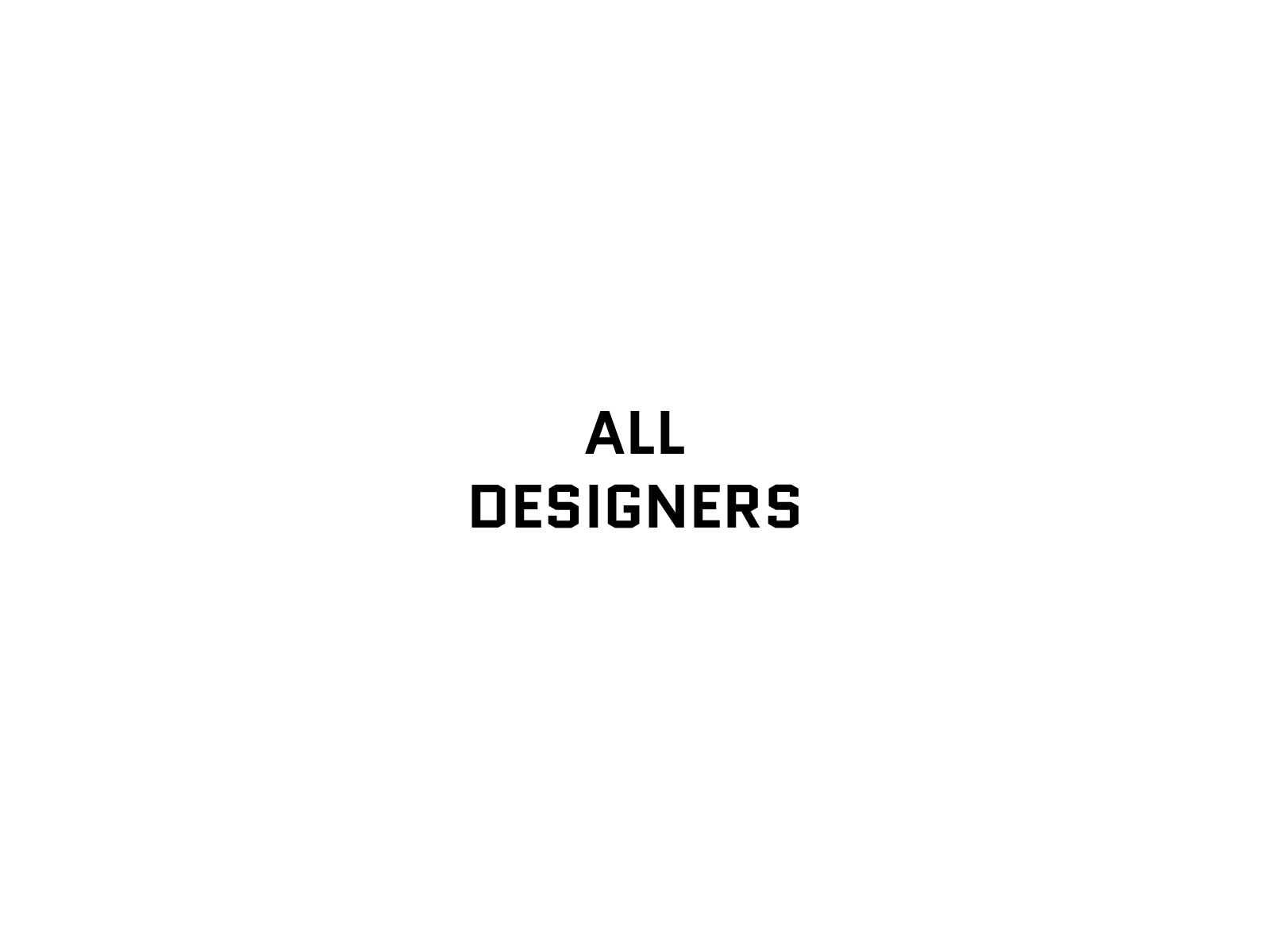 image of All Designers