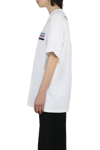 Forever Pushbutton T-shirt - white