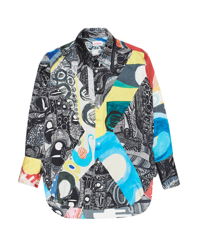 Art printed shirt - men