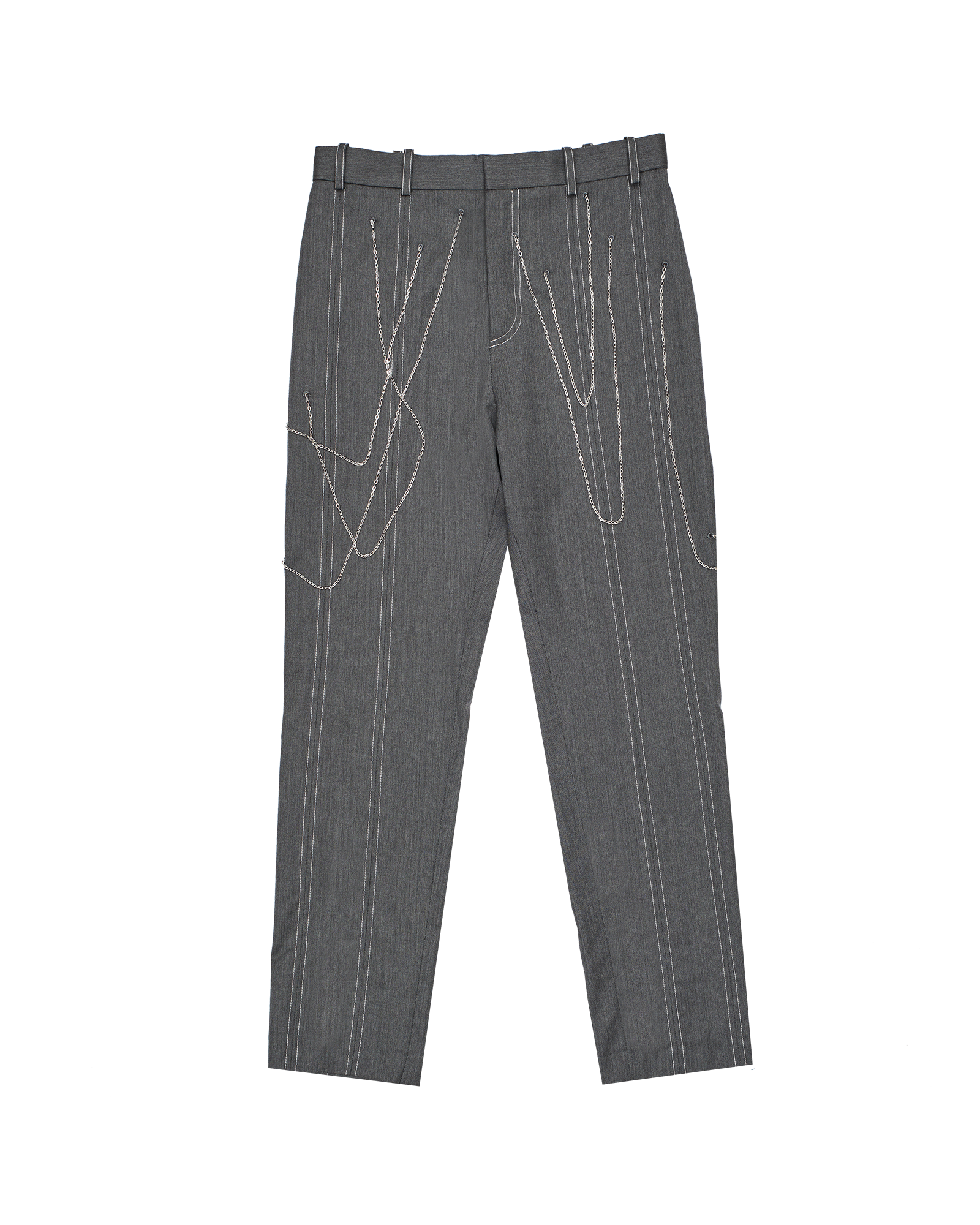 Chained trousers - women