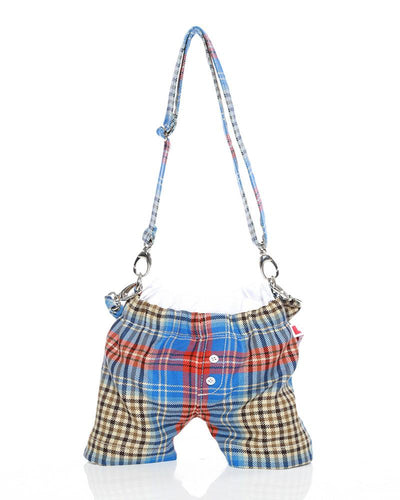 Panties bag LOVERBOY Shepherds tartan