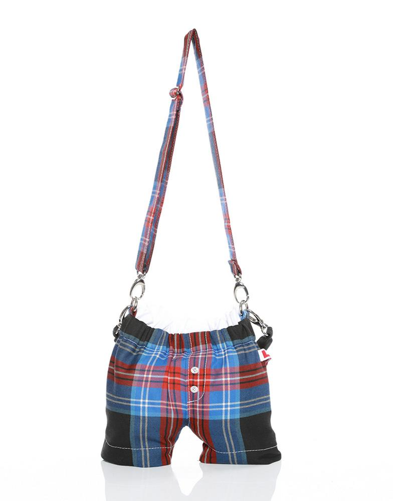 Panties bag LOVERBOY tartan