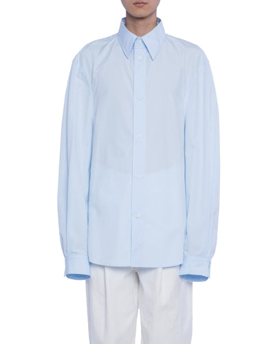 Buttoned shirt fb - baby blue