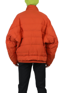 Corn Thermo short coat - burnt orange
