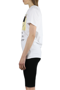 Slim t-shirt with logo print