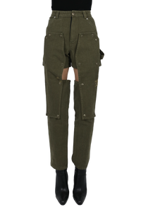 Industrial pants - brown