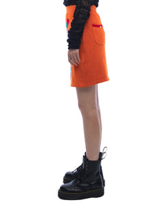 LOVE MOTOGUO Skirt - burnt orange